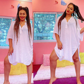 Actress Nadia Buari Stuns In Gorgeous Outfit, Causes Reactions