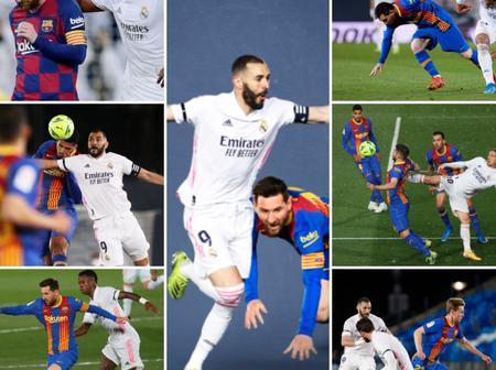 Take A Look At More Photos From Yesterday's El-Clasico Between Real Madrid and Barcelona