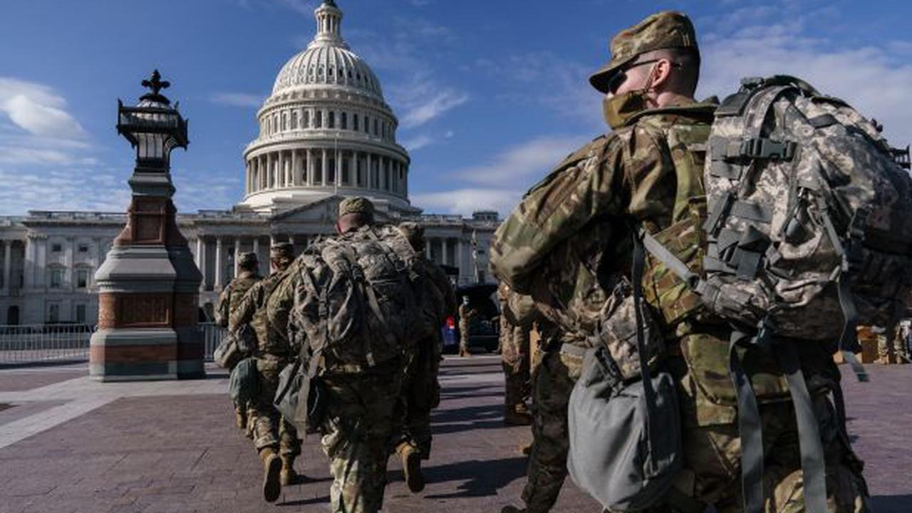 FBI vetting National Guard for possible threats