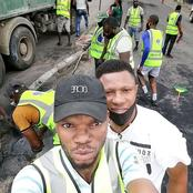 Youths And Authorities Join Hands Together To Clean Up Lagos Today (Photos)
