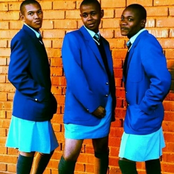 A real throw back.The trio from Skeem Saam rocked skirts and they looked cute.