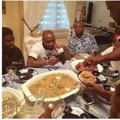 Enjoyment: See The Types Of Food Cubana Chief Priest Eats For Dinner With Davido's 30Billion Gang