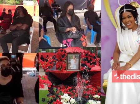 Tears All Over As Eddie Nartey's Wife Finally laid to rest [Photos]