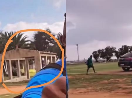 Fans React To The Run-down Part Of The Mamelodi Sundowns Facility