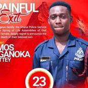Sad news hits Ghana Police Service.