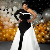 Check out 7 times Toyin Abraham gave us some nice one hand gown fashion goals. (Photos)