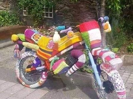 Photo Of Motorbike Which Has Gone Viral Excites Kenyans