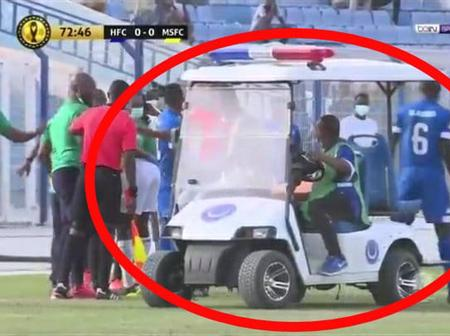 Have A Look At What People Noticed During the Match Between Mamelodi. Sundowns vs Al Hilal(Opinion)