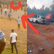 Man reacts to clash between Igbos and hausas in Abuja (screenshot)