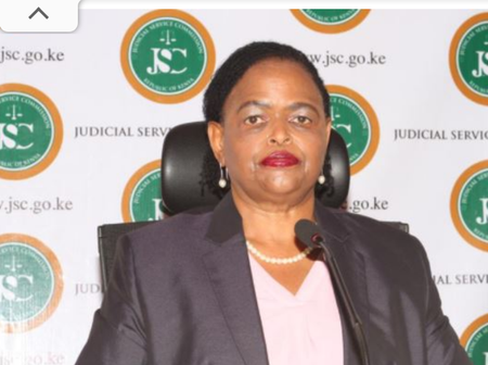 Judge Martha Koome Appears Before The Supreme Court For Chief Justice Interviews