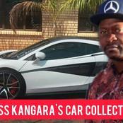 Kudzanai 'Boss' Kangara's Lavish car collection before he died, and his final resting place.