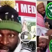 Ghanaian Man Releases a warning Video To Alhaji Musa over his Comedy Skits [Photos]