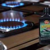 This Is Why You Should Apply Car Wax To Your Gas Stove