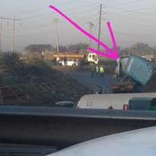 Avoid Donholm Lungalunga Road, See What Is Currently Happening There
