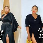 45 Years Old Sikiratu Sindodo Versus Her 23 Years Old Daughter, Who Slays Better? (Photos)