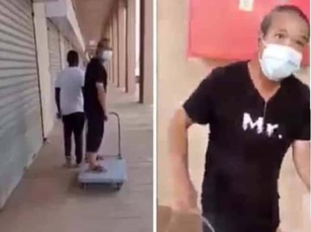 Recall Chinese Man Who Asked A Zambian To Pull Him In A Trolley? See The Action He May Face Now