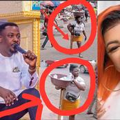Help Me Locate Her If She's In Ghana- Nigel Gaisie & Afia Schwar React To Photo Of A Disabled Hawker