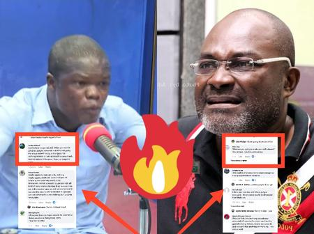 After Kwaku Asafo-Agyei Called Out Kennedy Agyapong, See How Ghanaians Reacted Online