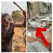 Angry youths Allegedly Killed Several Hausa Men, Burnt Their Houses In Edo State (Photos)