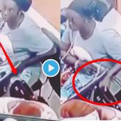 Video: See What this Woman Was Caught Doing On A Security Camera that Sparked Reactions