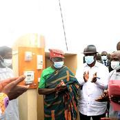 Électricité : le Président Alassane Ouattara met sous tension trois villages de zuenoula