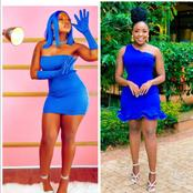 Switch Tv Presenter, Kush Tracey, Rocks Blue Outfits Like A Fashionista