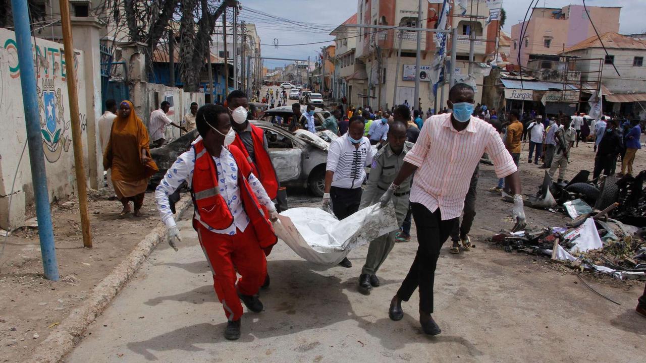 Somalia: 15 Tote bei Al-Shabaab-Anschlag in Mogadishu | Politik