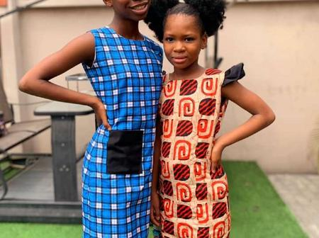 See Stunning Pictures Of Emmanuella and Aunty Success
