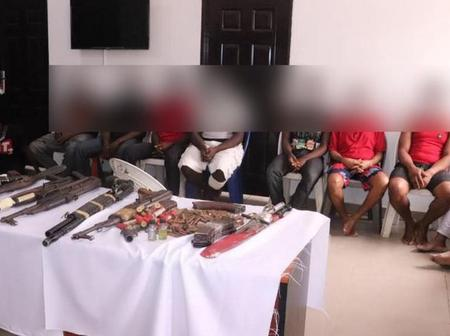 Unknown Gunmen Arrested in the South-East, See the Items they were caught with