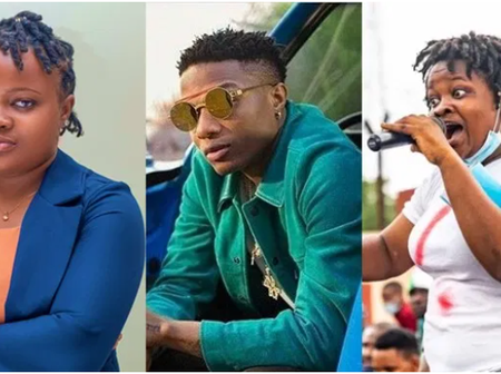 See What Wizkid Did That Surprised #EndSARS Protester, Rinu, On Her Birthday