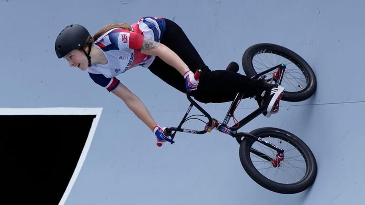 Tokyo Olympics: Who is BMX freestyle star Charlotte Worthington?