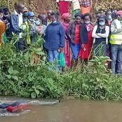 Panic After Murdered Body Of A Woman Is Found Dumped In River