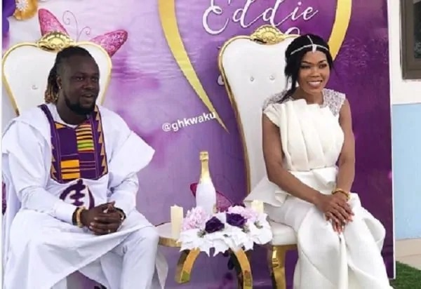 513362484f1e47b0b21ae5d1432e556f?quality=uhq&resize=720 - Painful Lost: Traditional And White Wedding Photos Of Eddie Nartey And His Wife, Vida Who Just Died