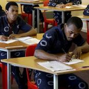 Pass rate for the South African inmates who sat for the 2020 examinations impressive