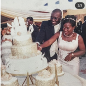 Popular Nigeria Comedian, Ali Baba Celebrates 15 Years Wedding Anniversary With His Wife