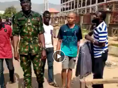 Key Lessons to Learn from An Army Officer's Advice to Civilians Not Loot the Abuja NYSC Camp