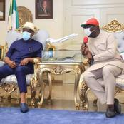 Gov Obaseki visits Wike in Rivers State, said God used him to make their victory possible