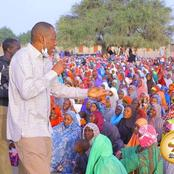 Governor Zulum Distributed Cash And Wrappers To Over 1000 Households Of Marte IDPs At Maiduguri