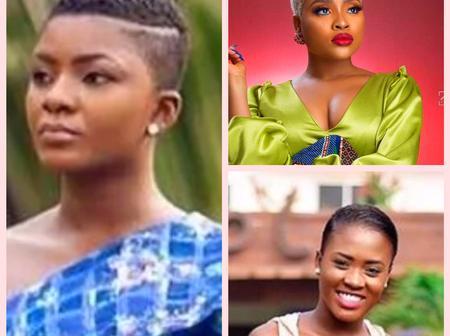 Top 10 female celebrities who makes haircut look so cute in Ghana