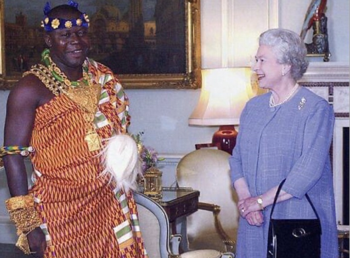 51501524e6f409232bea1fc50df269d0?quality=uhq&resize=720 - Throwback Photos of Otumfour Osei Tutu II hanging out with Queen Elizabeth II causes massive stir