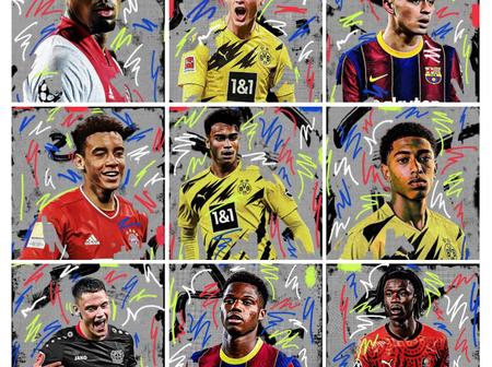 NXGN 2021: CheckOut The Top 10 Best Wonderkids In Football
