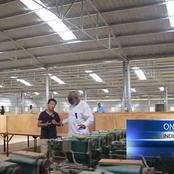 See pictures of the textile mill in ondo state