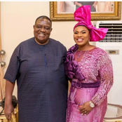 Meet 78 Years Old Imo Billionaire, Chief Iwanyanwu And His Second Wife Who Is An Interior Designer