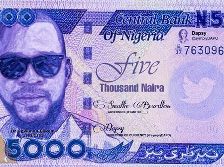 After an alleged N5,000 note was spotted, see what Dr Olufunmilayo said about it that got reactions.