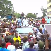 Raila Continues To Dominate With Large Crowds In Mombasa County [VIDEO]