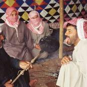 صور| جهاز كشف الكذب عند البدو..