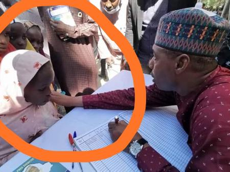 After Governor Zulum Visited Damasak In Borno State, See What He Did For The Children