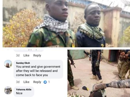 Fake Robbers on Army uniform were Arrested by Police in Benue, check out reactions & what happened.