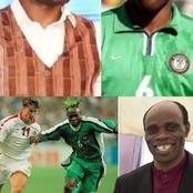 After using charm to play football during his days, he is now a renewed Pastor 'Taribo West'