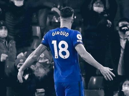 Olivier Giroud in the Champions League this season